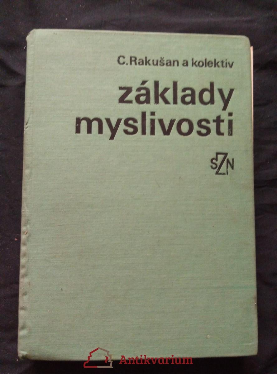 Základy myslivosti (Ocpl, 416 s., il. A. Zezula)