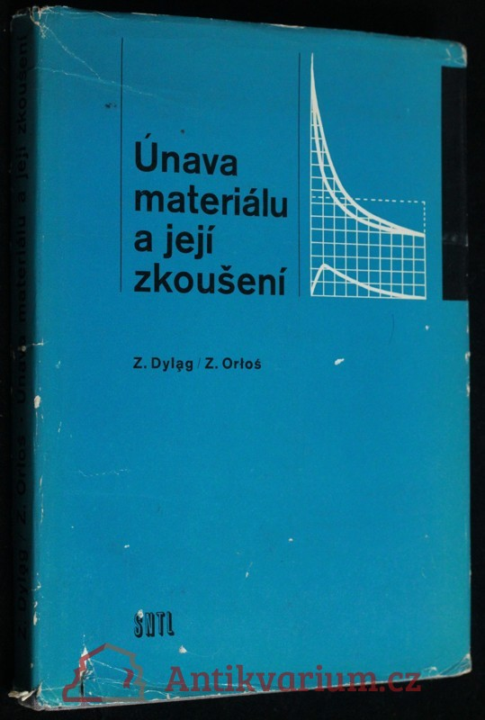 antikvární kniha Únava materiálu a její zkoušení, 1968