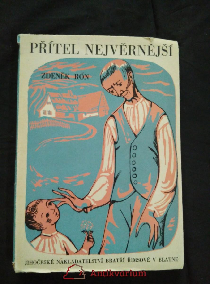 antikvární kniha Přítel nejvěrnější (Obr, 164 s., ob a 8 il. E. Cimbura), 1944