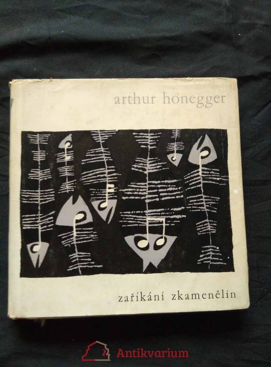antikvární kniha Zaříkání zkamenělin (ob. + il. J. Rathouský), 1960