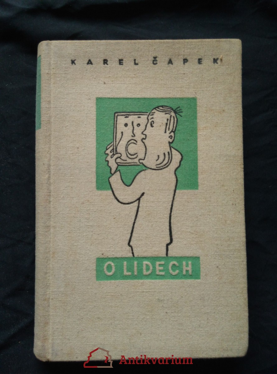 O lidech (Ocpl, 248 s., il. J. Čapek a C. Bouda)