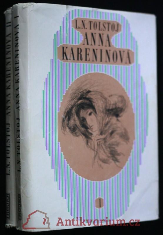antikvární kniha Anna Kareninová 1.-2., 1973