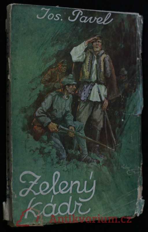antikvární kniha Zelený kádr : román z války, 1927