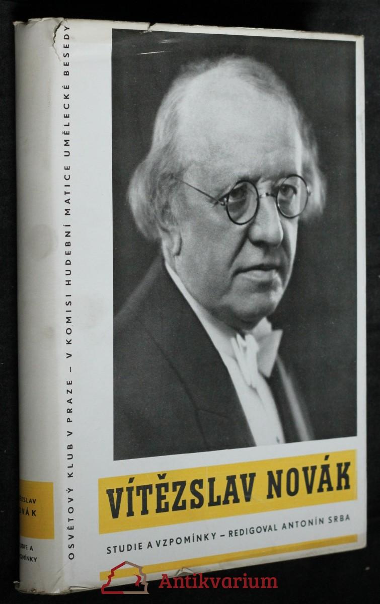 Vítězslav Novák : studie a vzpomínky