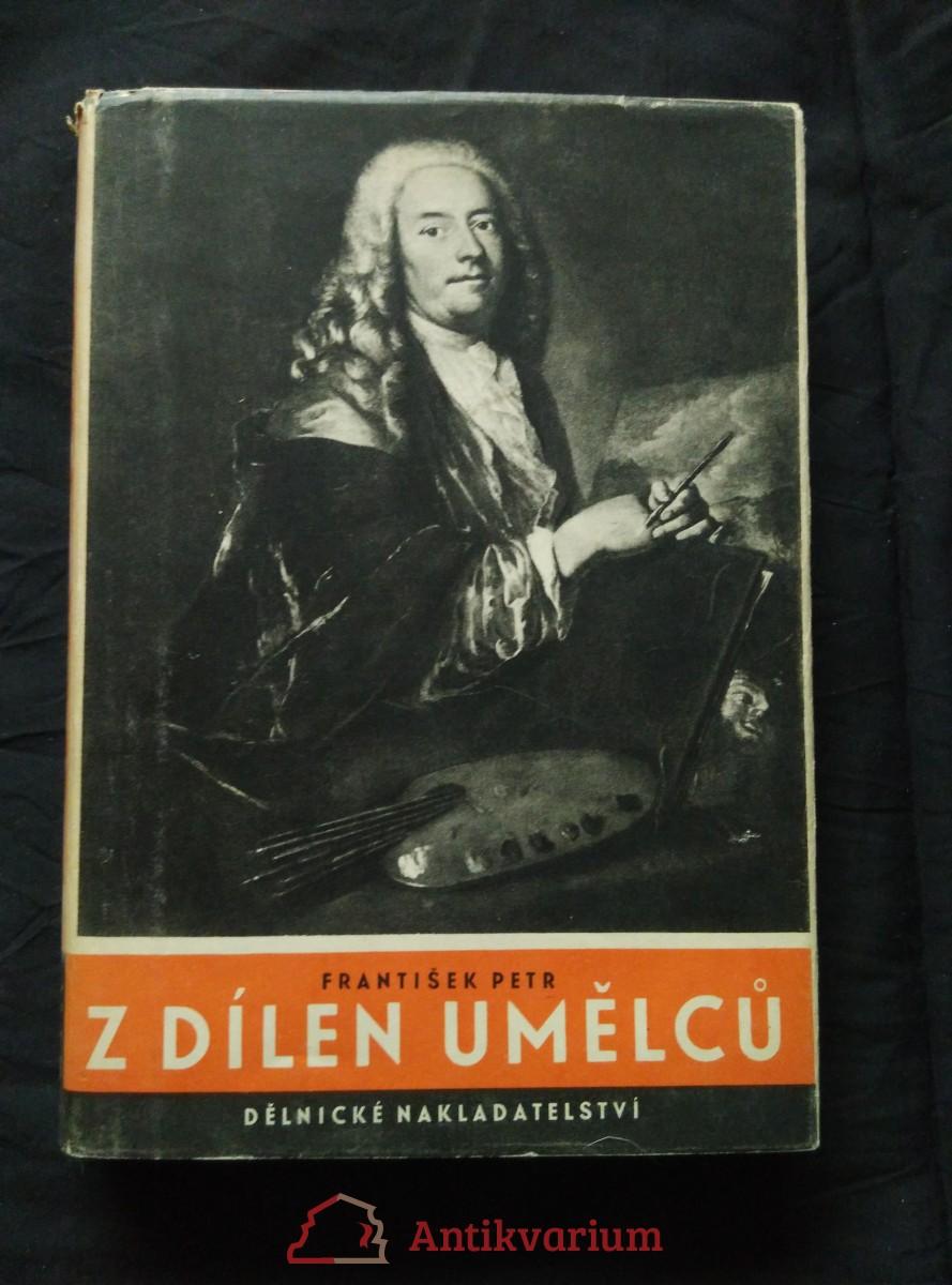 antikvární kniha Z dílen umělců (A4, Oppl, 192 s., 70 obr příl), 1947