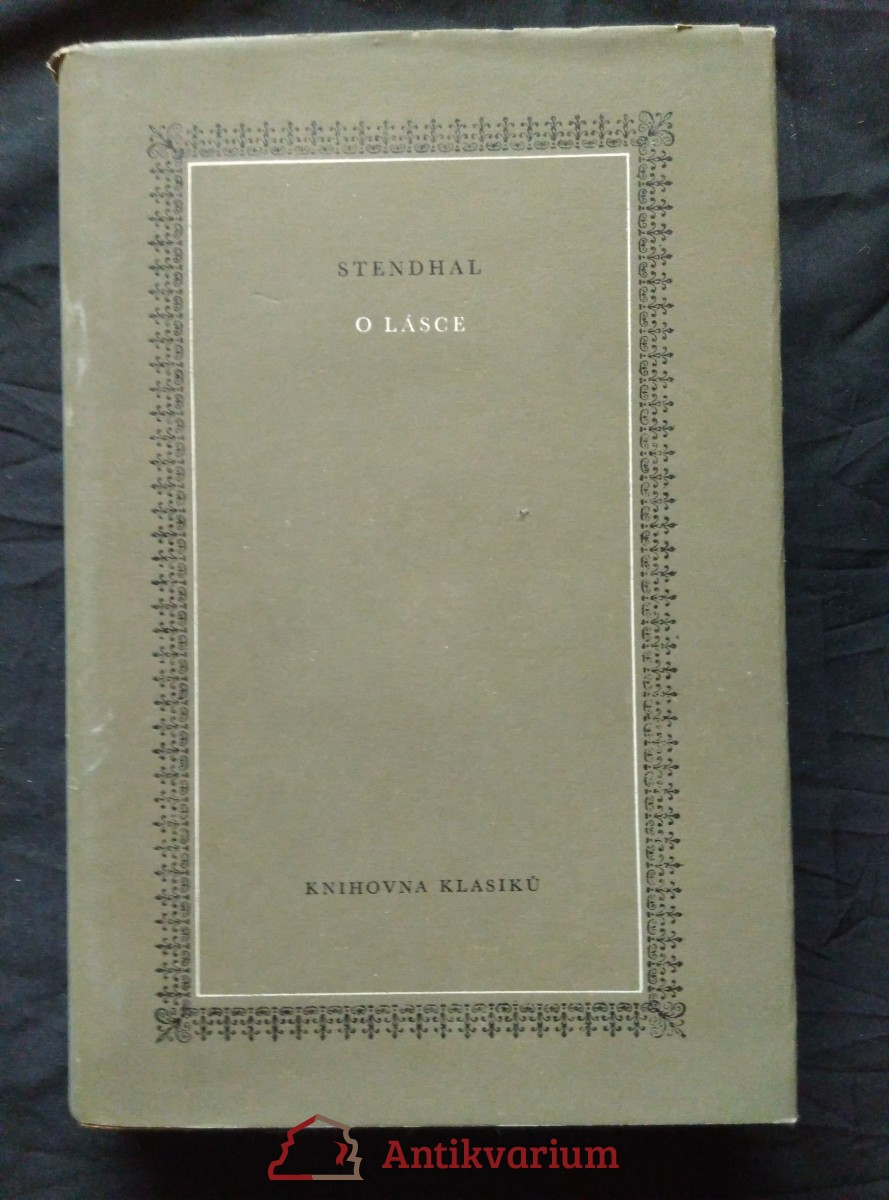 antikvární kniha O lásce, 1983