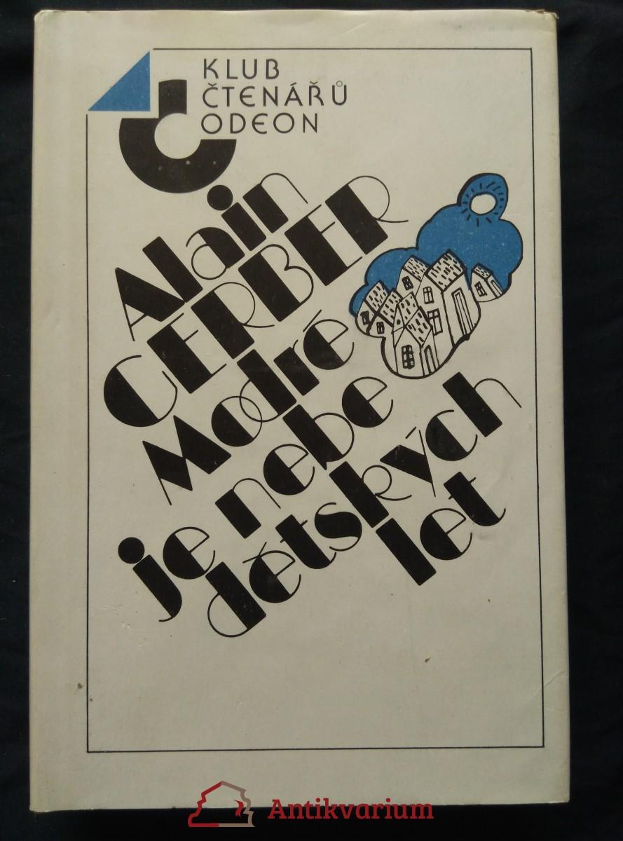 antikvární kniha Modré je nebe dětských let, 1987