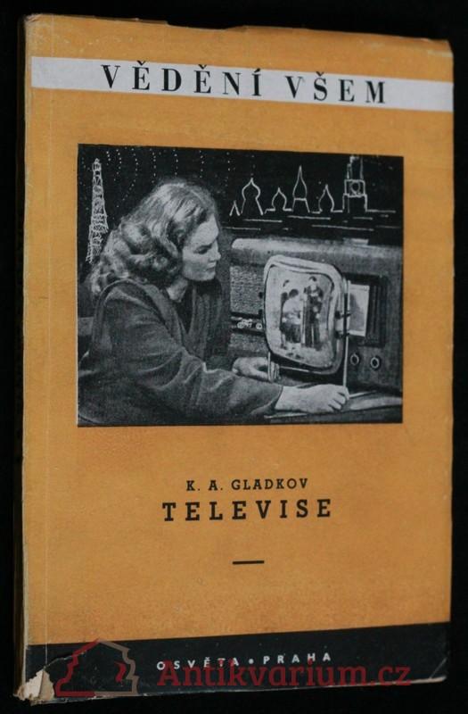 antikvární kniha Televise, 1951