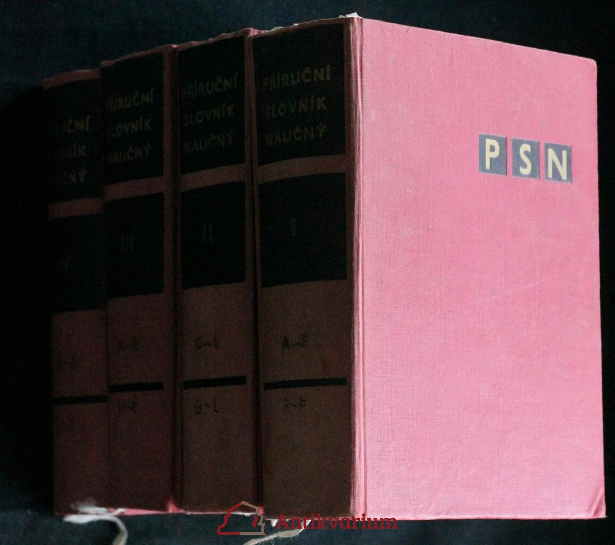 Příruční slovník naučný. 4 svazky