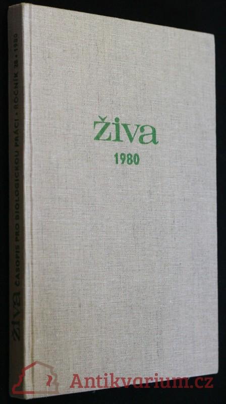 antikvární kniha Časopis pro biologickou práci, 1980