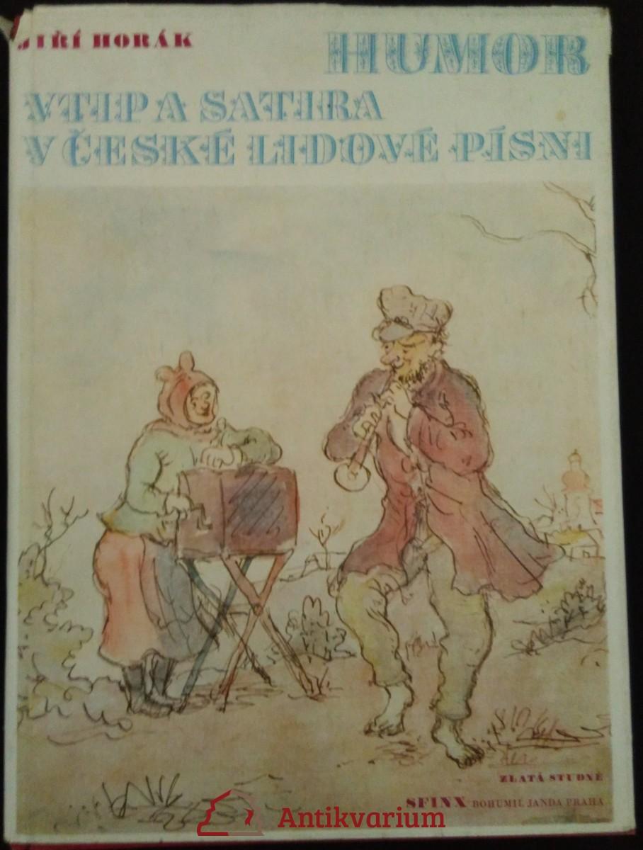 Humor, vtip a satira v české lidové písni