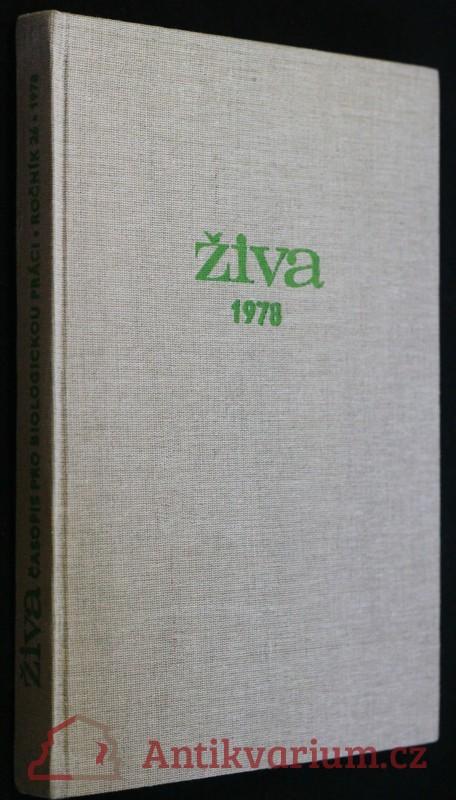 antikvární kniha Časopis pro biologickou práci, 1978