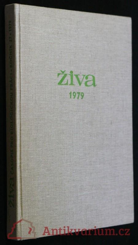 antikvární kniha Časopis pro biologickou práci, 1979