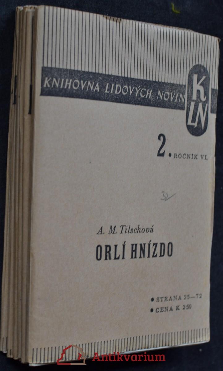 Orlí hnízdo : román, sv. 2-7
