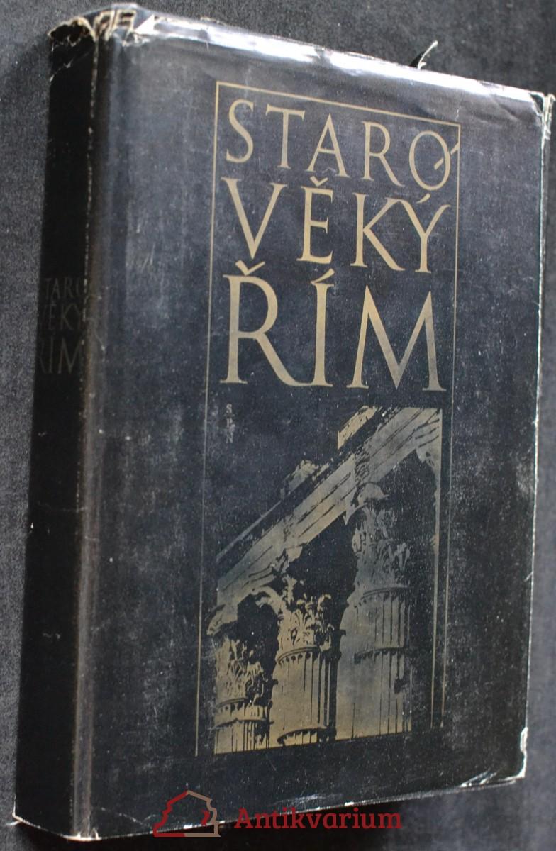 Starověký Řím : Čítanka k dějinám starověku