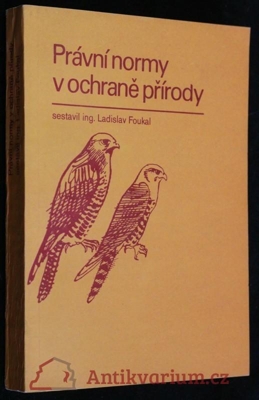 antikvární kniha Právní normy v ochraně přírody, 1979