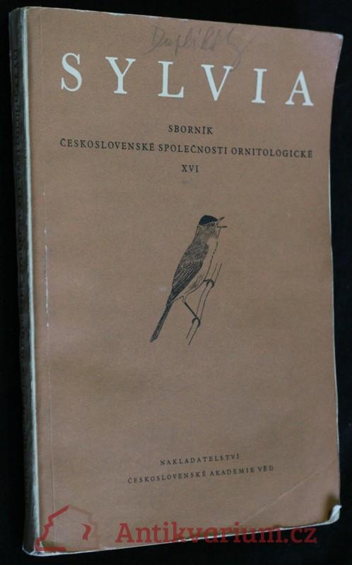 antikvární kniha Sylvia XVI, 1959