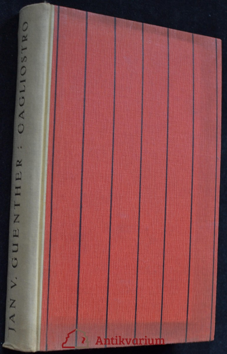 Cagliostro : podivuhodný život Josefa Balsama - hraběte Cagliostra
