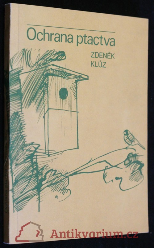 antikvární kniha Ochrana ptactva, 1980