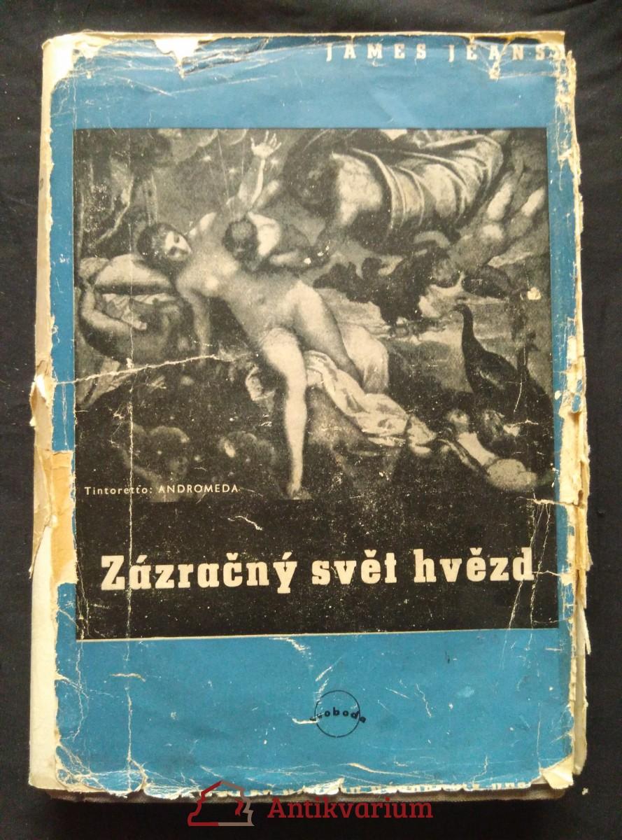 antikvární kniha Zázračný svět hvězd (Ocpl, 160 s., 47 il., 2 mapy), 1948