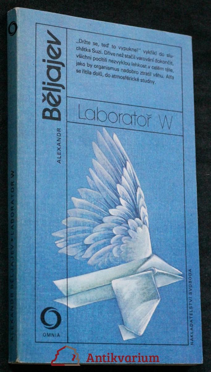 Laboratoř W : [novely]