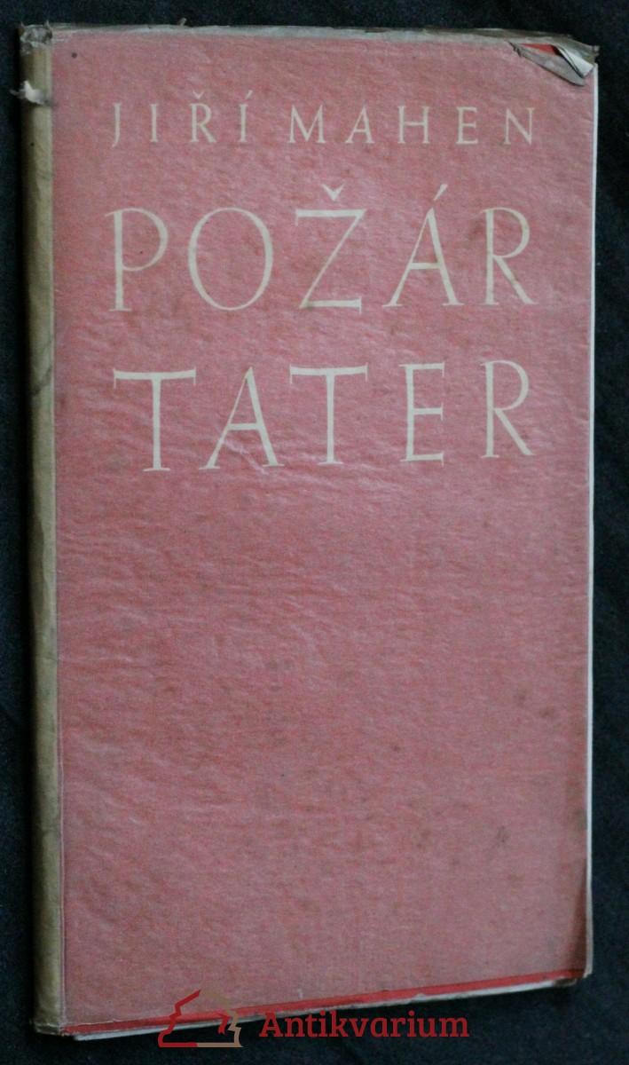 Požár Tater