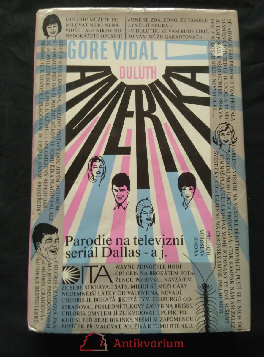 antikvární kniha Amerika! (Duluth) (parodie na Dallas?), 1993