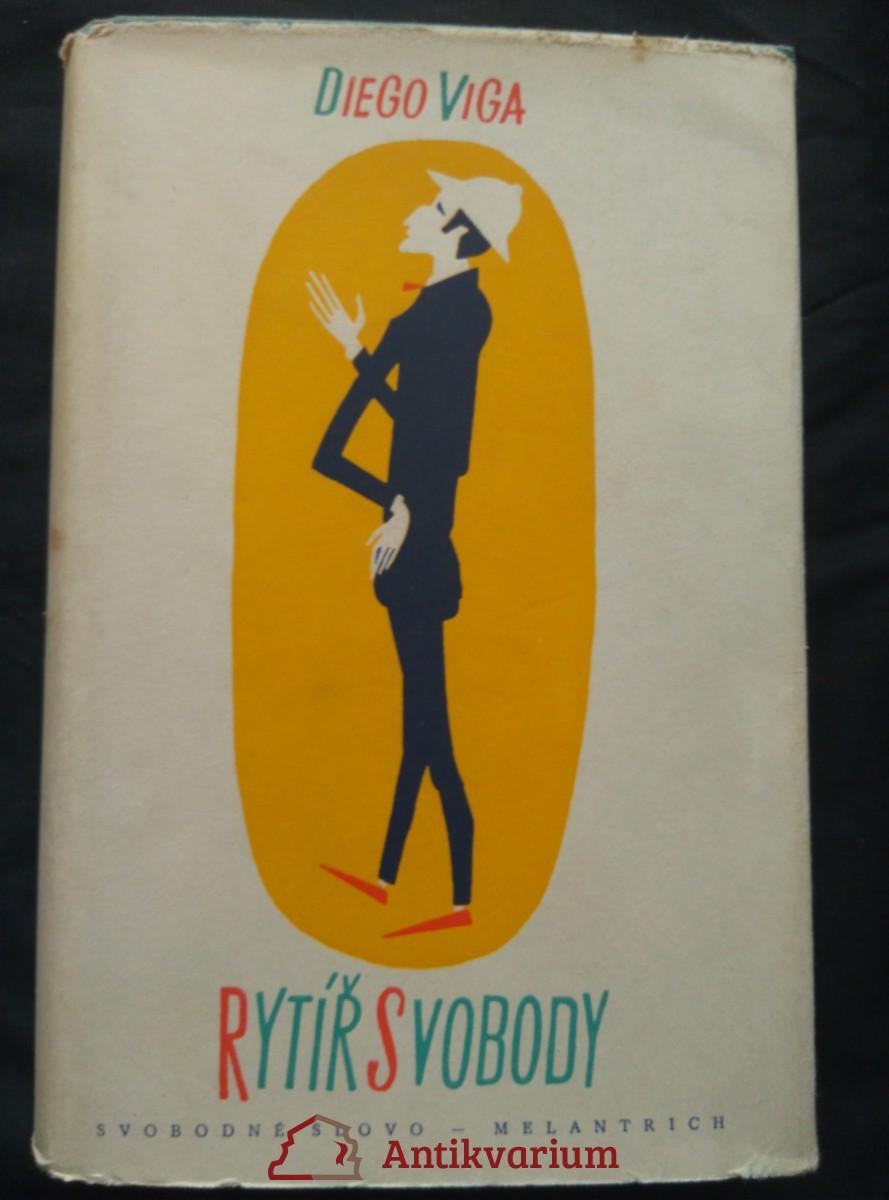 antikvární kniha Rytíř svobody, 1958