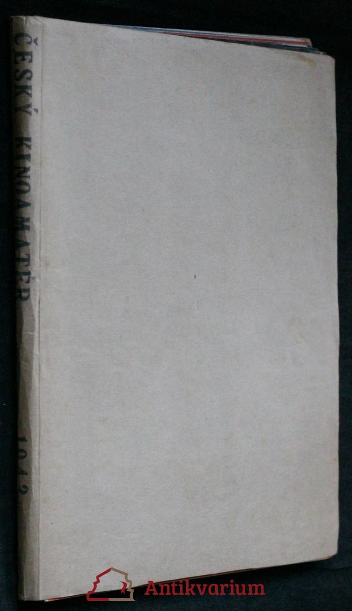 antikvární kniha Český kinoamatér č. 1.-12., ročník VIII., 1943