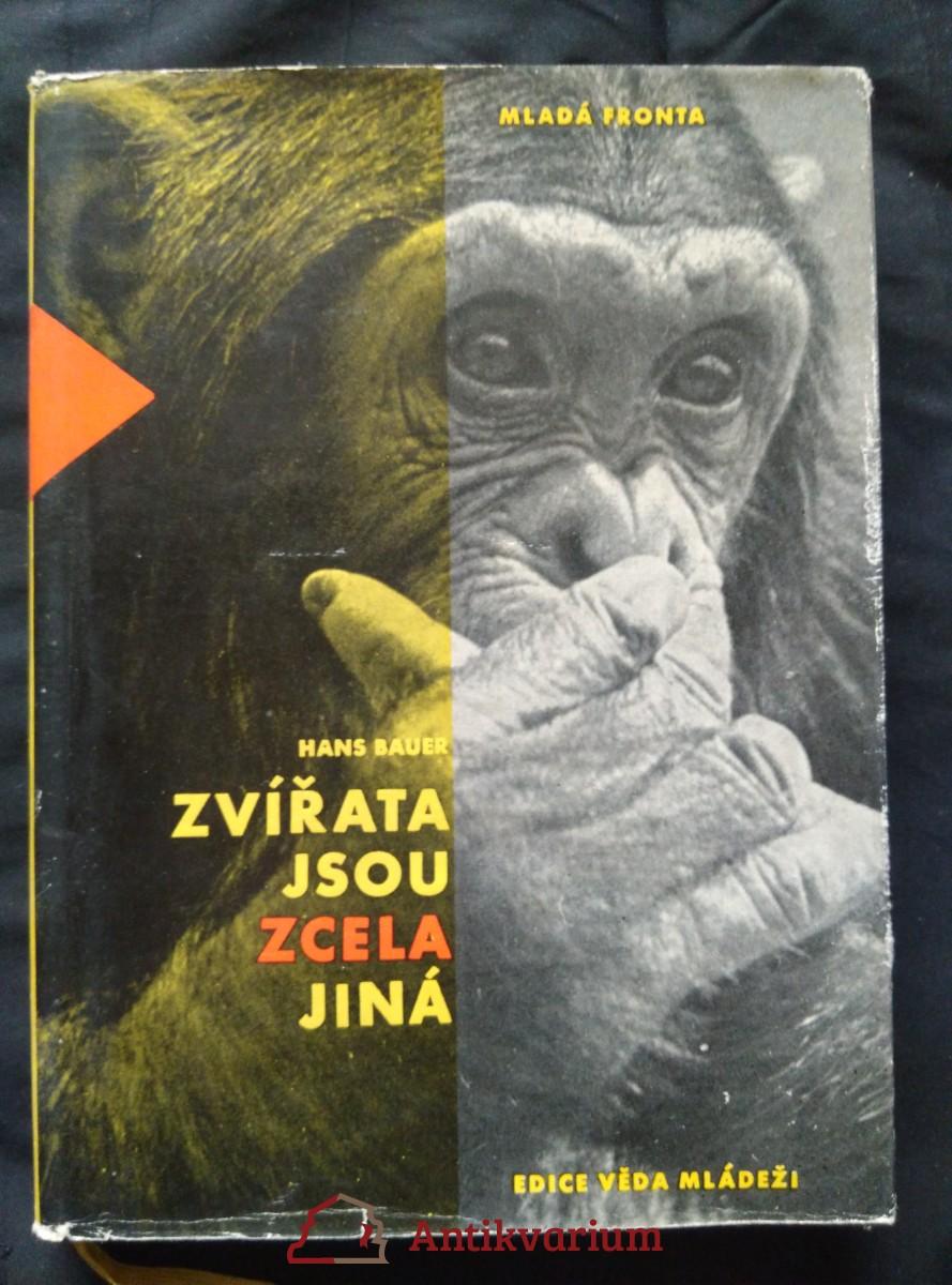 Zvířata jsou zcela jiná (Ocpl., 160 s.)