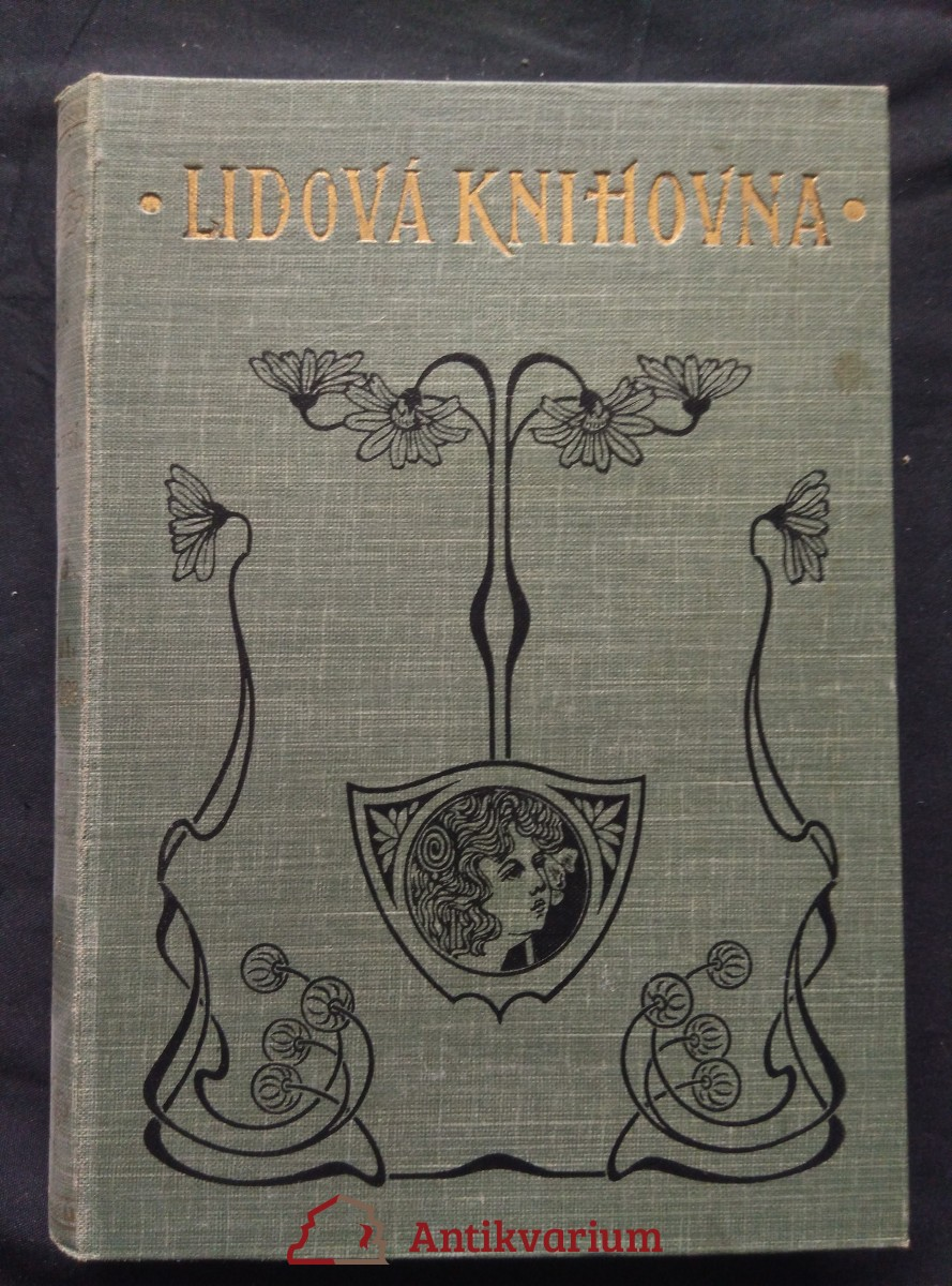 antikvární kniha Bída ve vsi, 1904