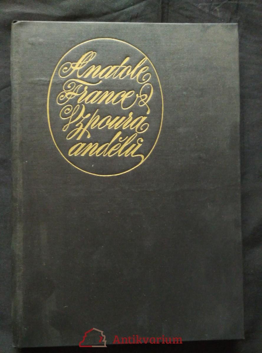 antikvární kniha Vzpoura andělů (il. M. Váša), 1975