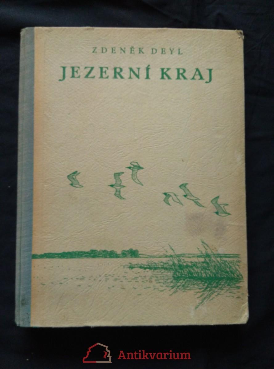 antikvární kniha Jezerní kraj (il. A. Pospíšil), 1946