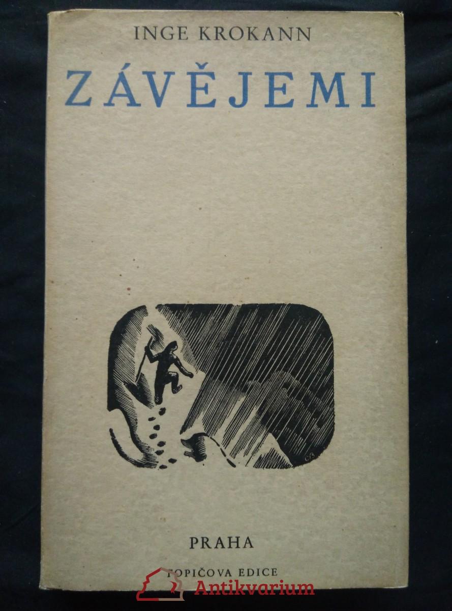 antikvární kniha Závějemi (Oppl., 368 s., dřevoryt a typo Cyril Bouda), 1942