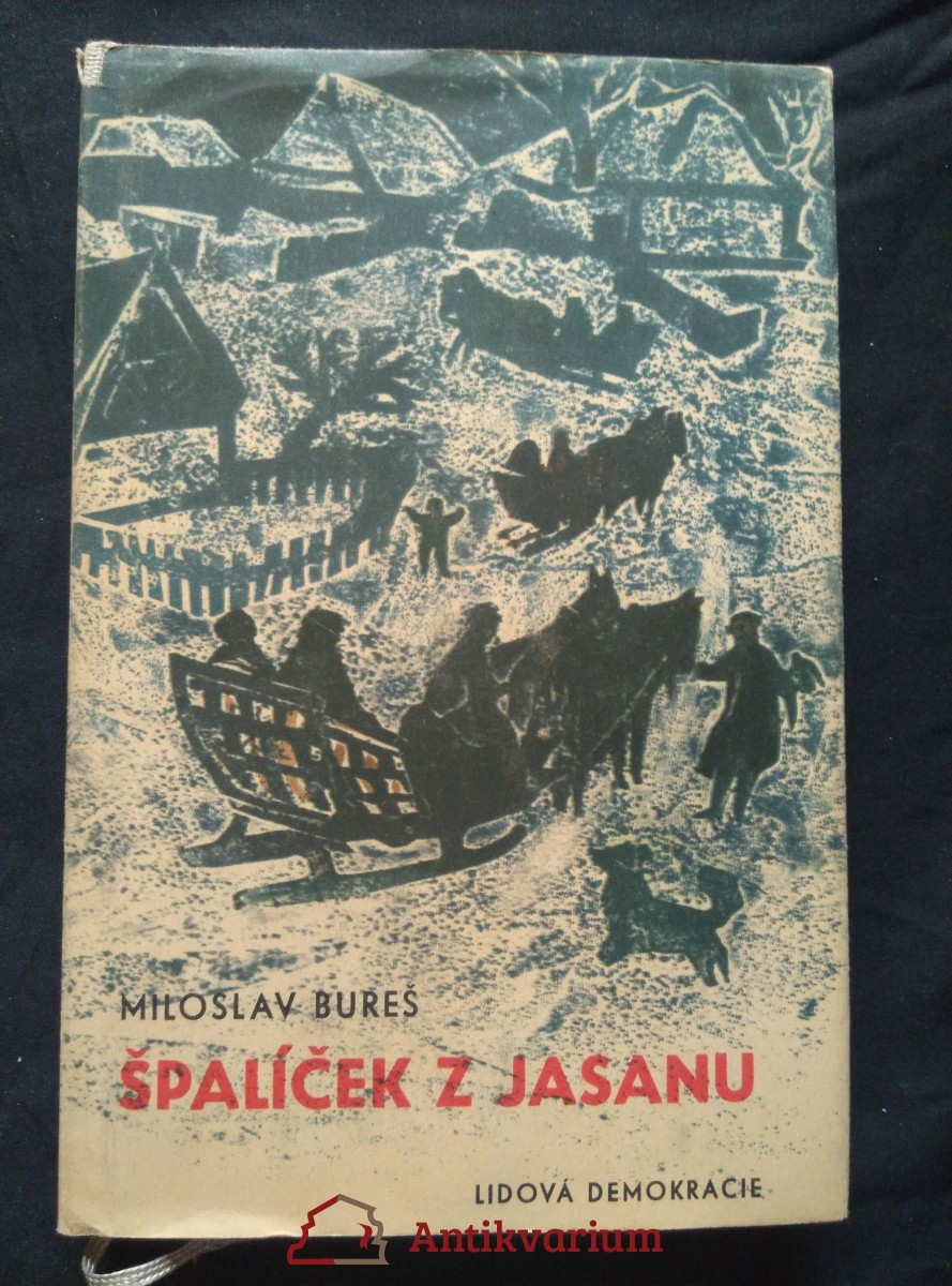 Špalíček z jasanu - folklór, hudba, divadlo na Vysočině (Ocpl, 200 s., ob a il. F. Emler)