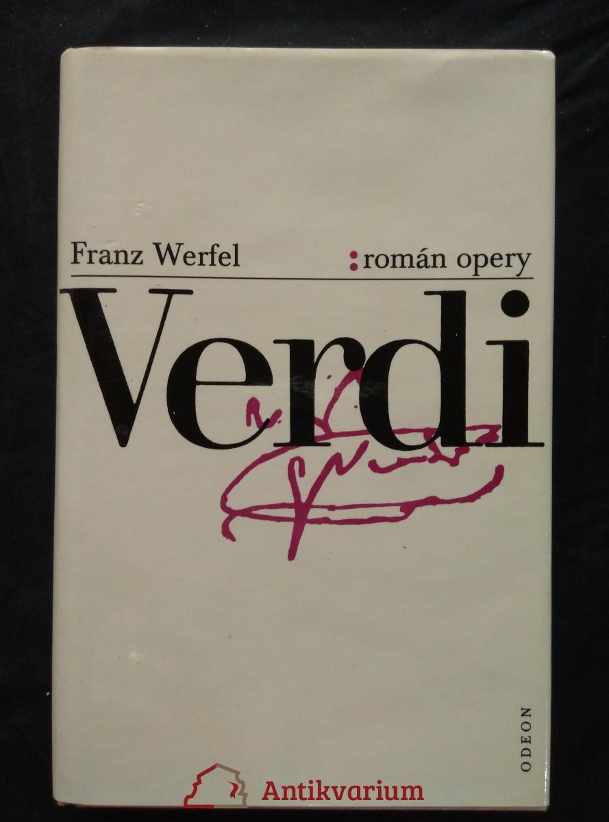 Verdi - román opery (Ocpl, 392 s.)