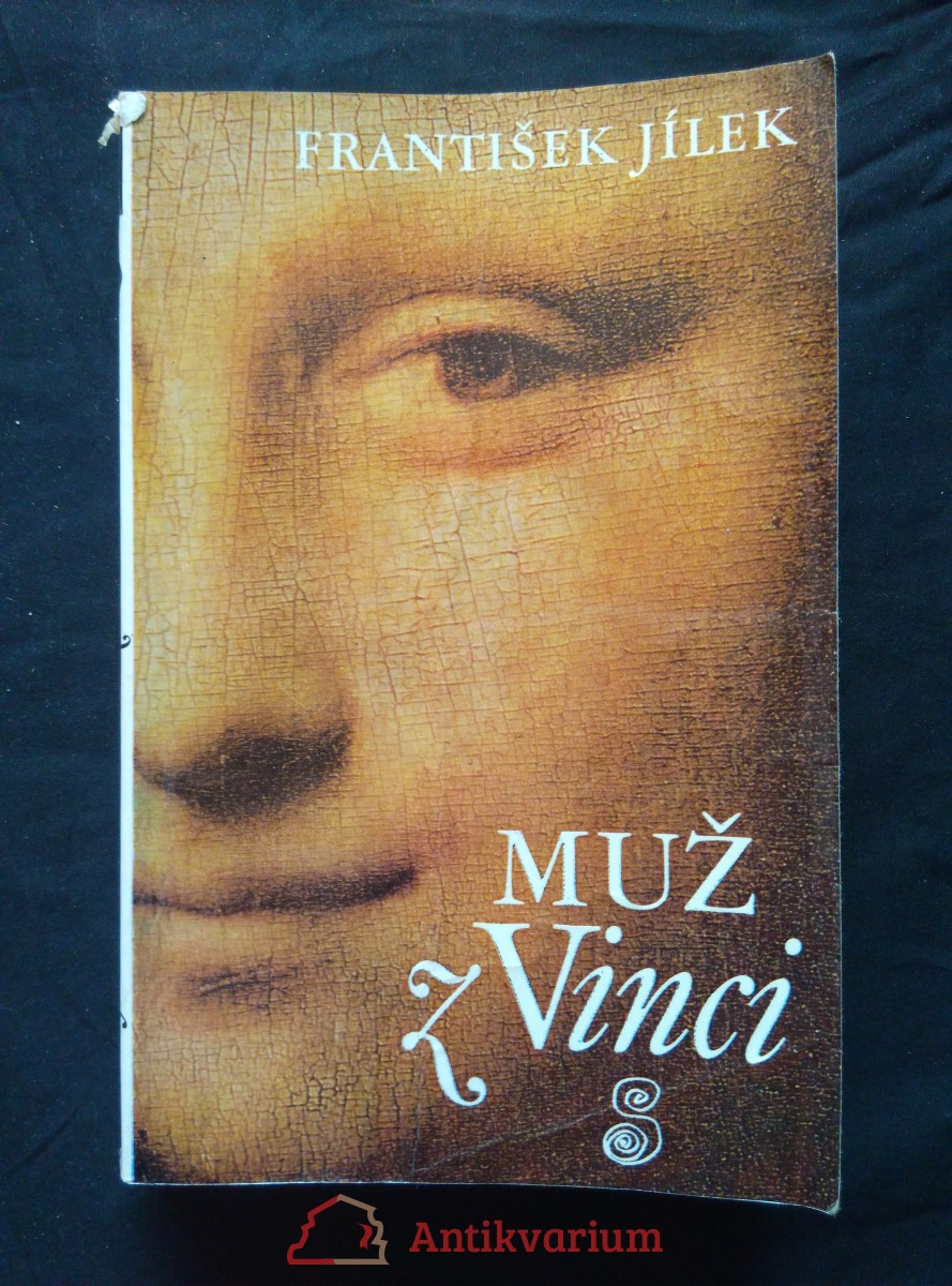 Muž z Vinci (lam., 449 s.)