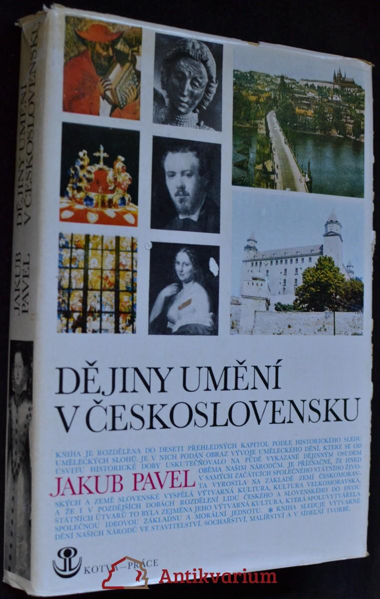 Dějiny umění v Československu. stavitelství, sochařství, malířství