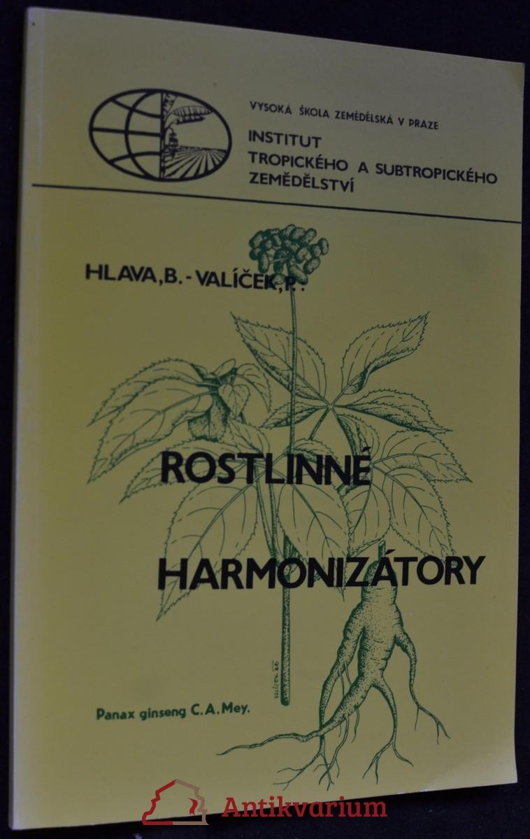 Rostlinné harmonizátory