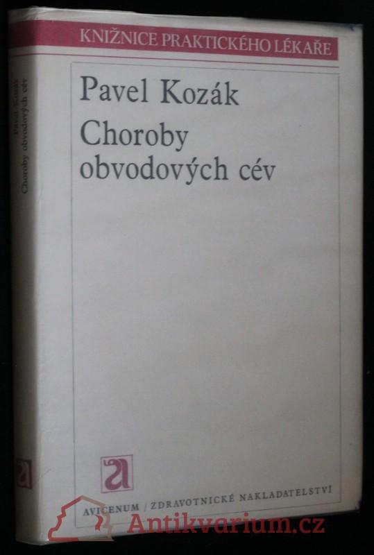 antikvární kniha Choroby obvodových cév, 1981
