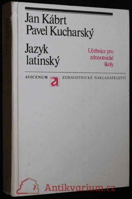 antikvární kniha Jazyk latinský, 1980