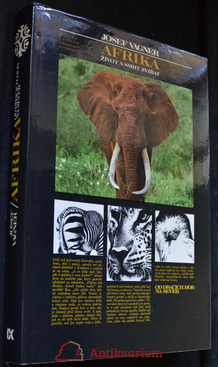 Afrika : život a smrt zvířat : vyprávění o afrických zvířatech, přírodě a lidech od Dračích hor na sever