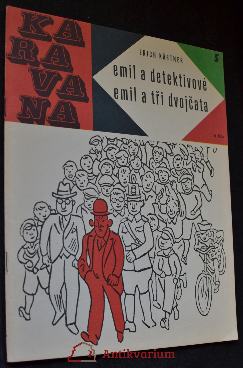Emil a detektivové ; Emil a tři dvojčata