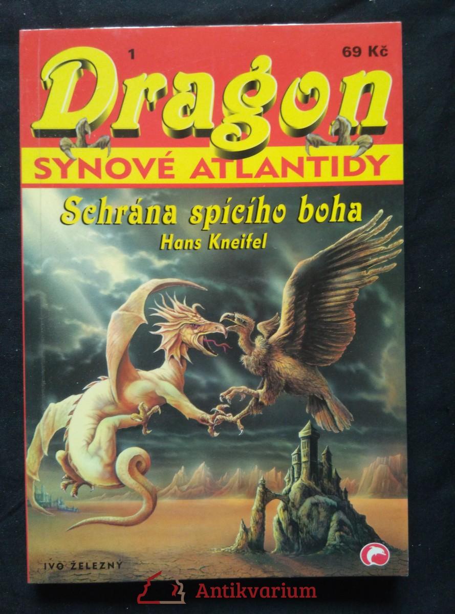 Dragon 1 - Synové Atlantidy - Schrána spícího boha (Obr, 96 s.)