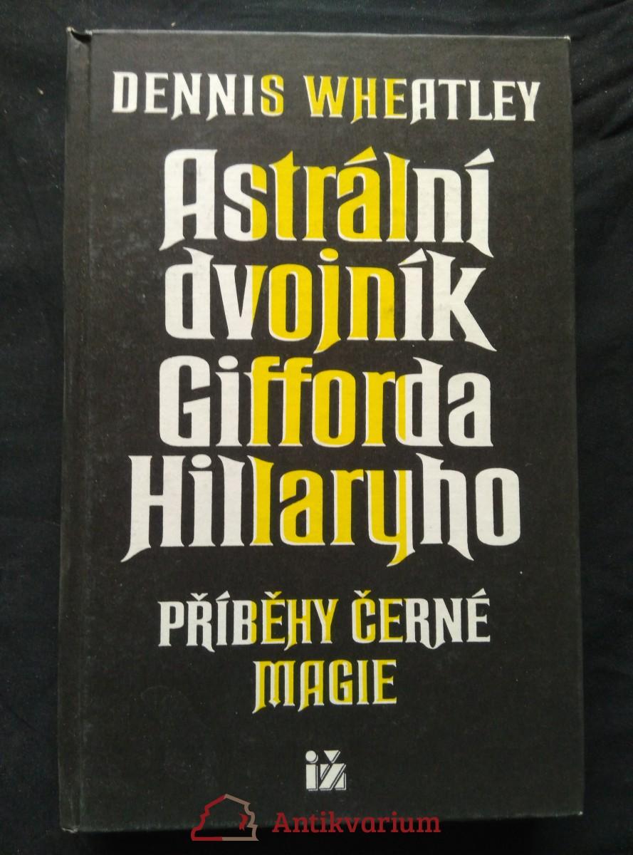 antikvární kniha Astrální dvojník Gifforda Hillaryho, 1994