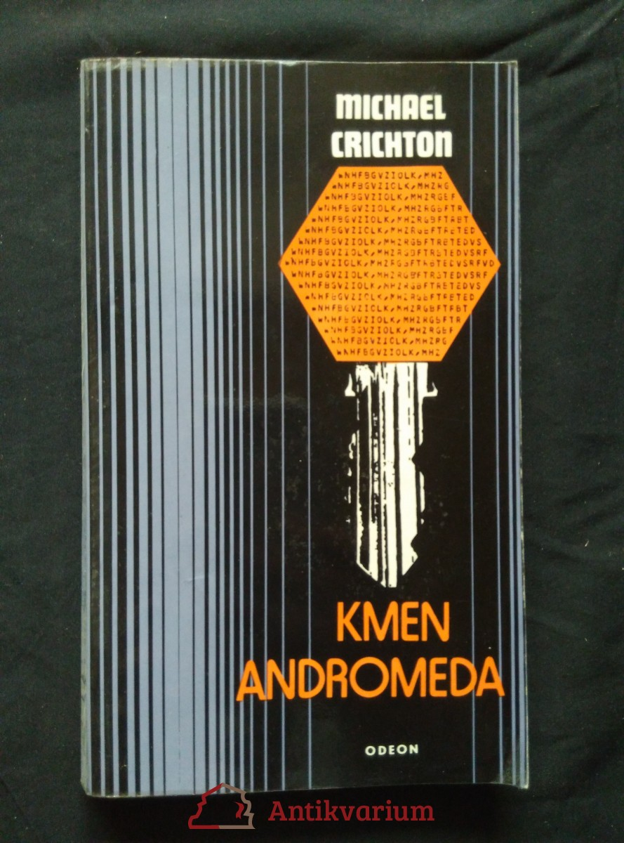 Kmen Andromeda (Obr, 256 s.)