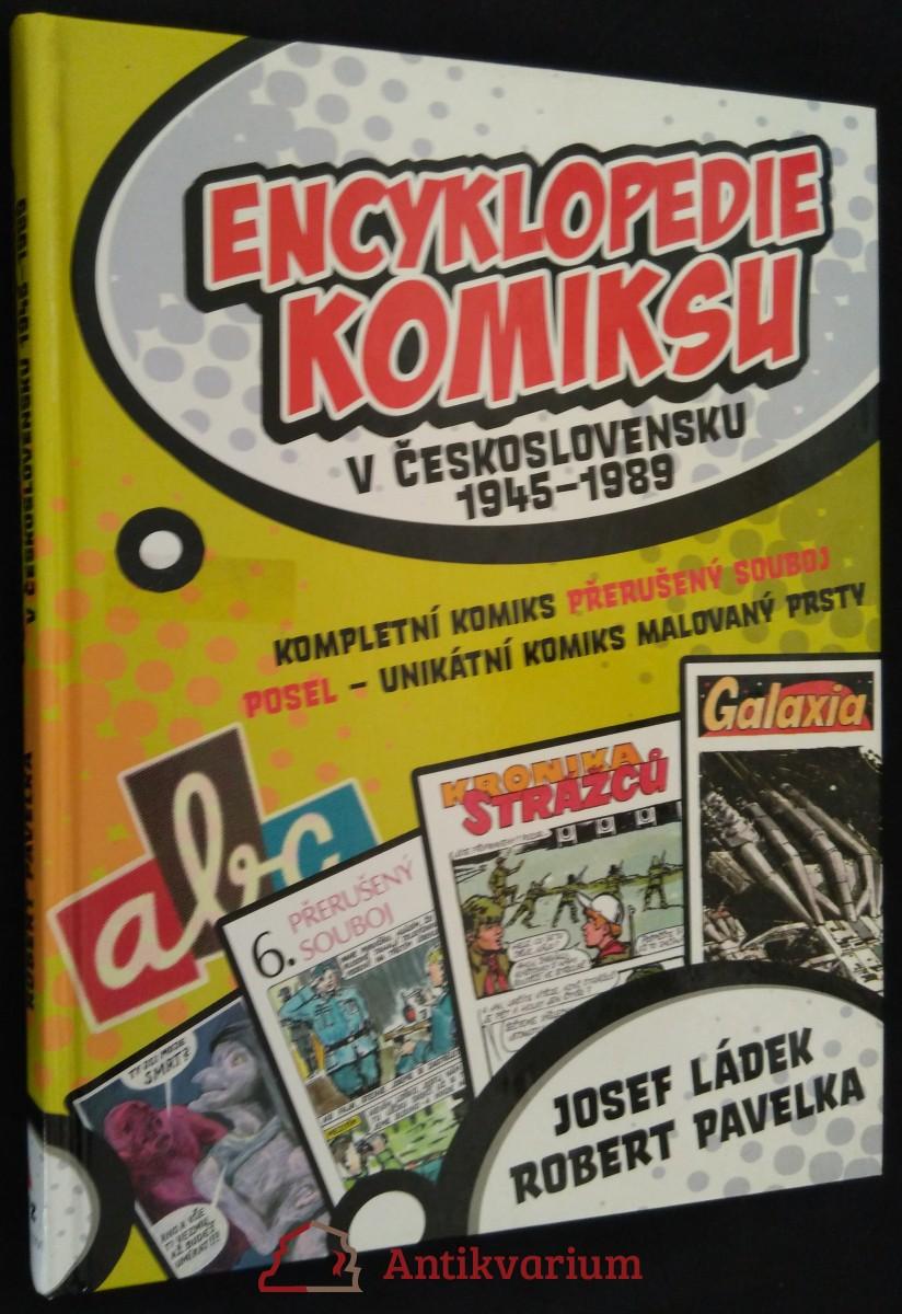 Encyklopedie komiksu v Československu 1945-1989