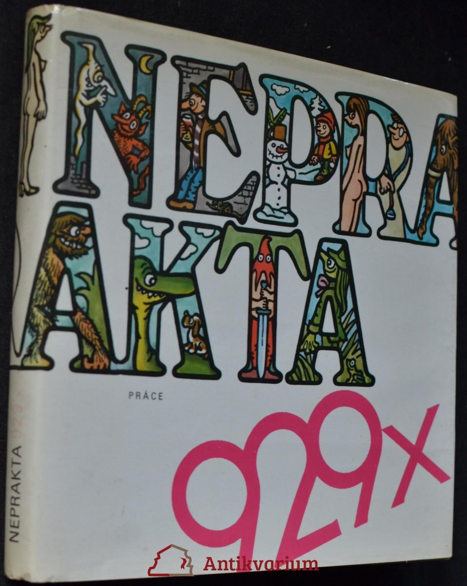 929x Neprakta : kniha kresleného humoru