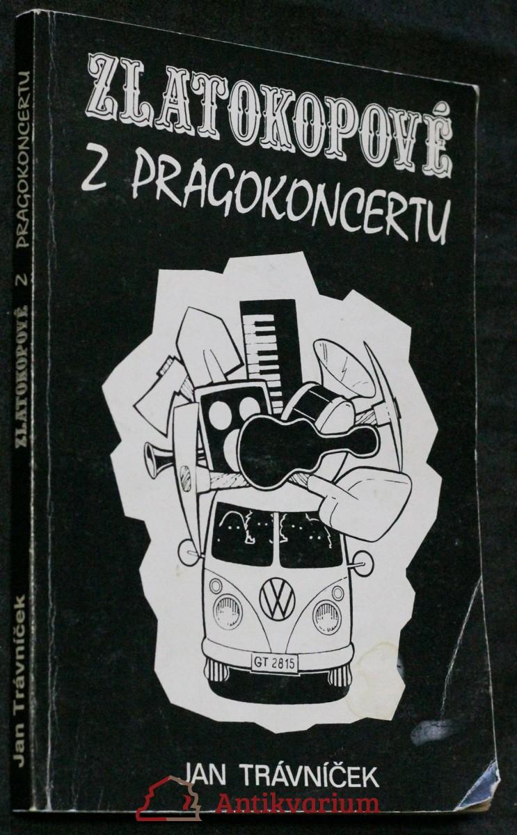 antikvární kniha Zlatokopové z Pragokoncertu , 1995