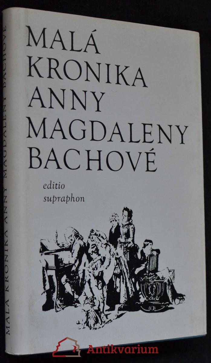 Malá kronika Anny Magdaleny Bachové